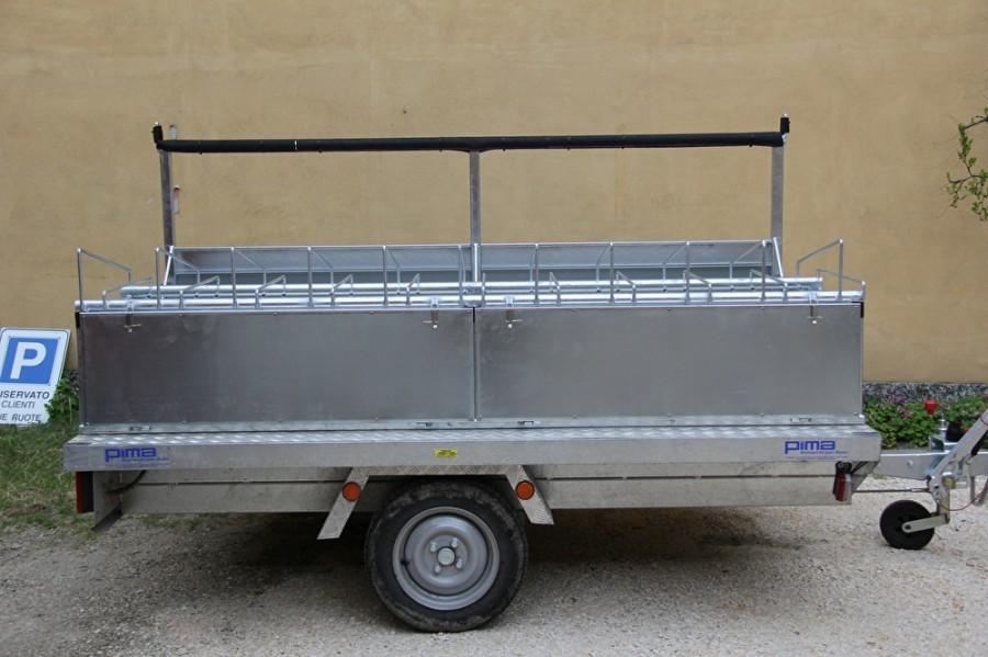 carrello portabici usato